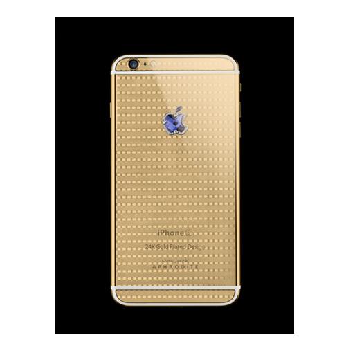 Navjack Aphrodite iPhone 6s 24K鍍金藍剛玉(格倫紋奢華版)