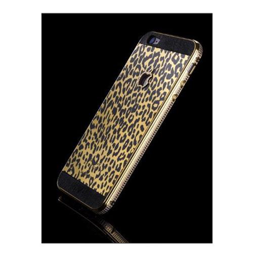 Navjack Aphrodite|iPhone 6 Plus / 6s Plus 水鑽版 24K黃金鍍金豹紋保護背蓋