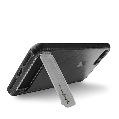 Navjack|iPhone 7 | 8 Plus 共用 (5.5吋) 站立式抗摔吸震空壓保護殼 鈷黑色