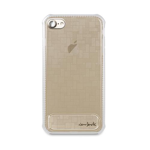 Navjack|iPhone 7 | 8 共用 (4.7吋) 站立式抗摔吸震空壓保護殼 霧白色