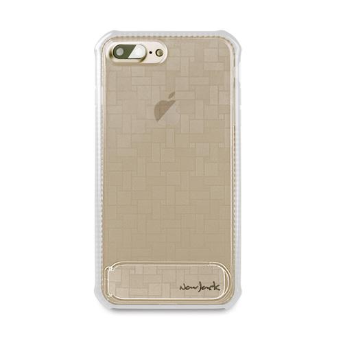 Navjack|iPhone 7 | 8 Plus 共用 (5.5吋) 站立式抗摔吸震空壓保護殼 霧白色