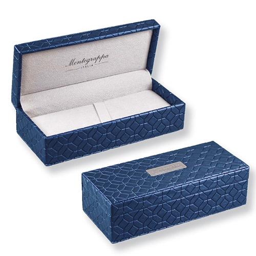 Montegrappa │ 萬特佳 Fortuna 財富系列 藍鍍玫瑰金 鋼珠筆