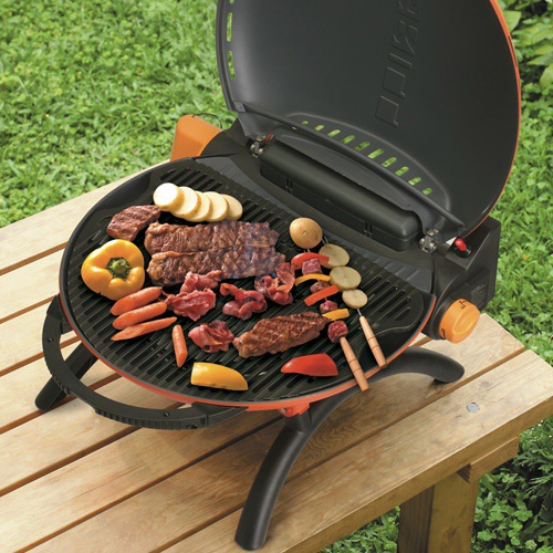 O-Grill 3500T 美式時尚可攜式瓦斯烤肉爐(橘/紅/藍/黑)  豪華包套