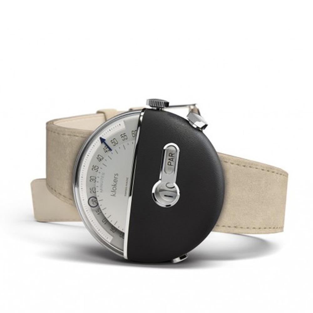 klokers   庫克錶 KLOK-02(黑色磨砂皮革/黑色柔滑皮革/咖啡色皮革/鼠灰色麂皮革)