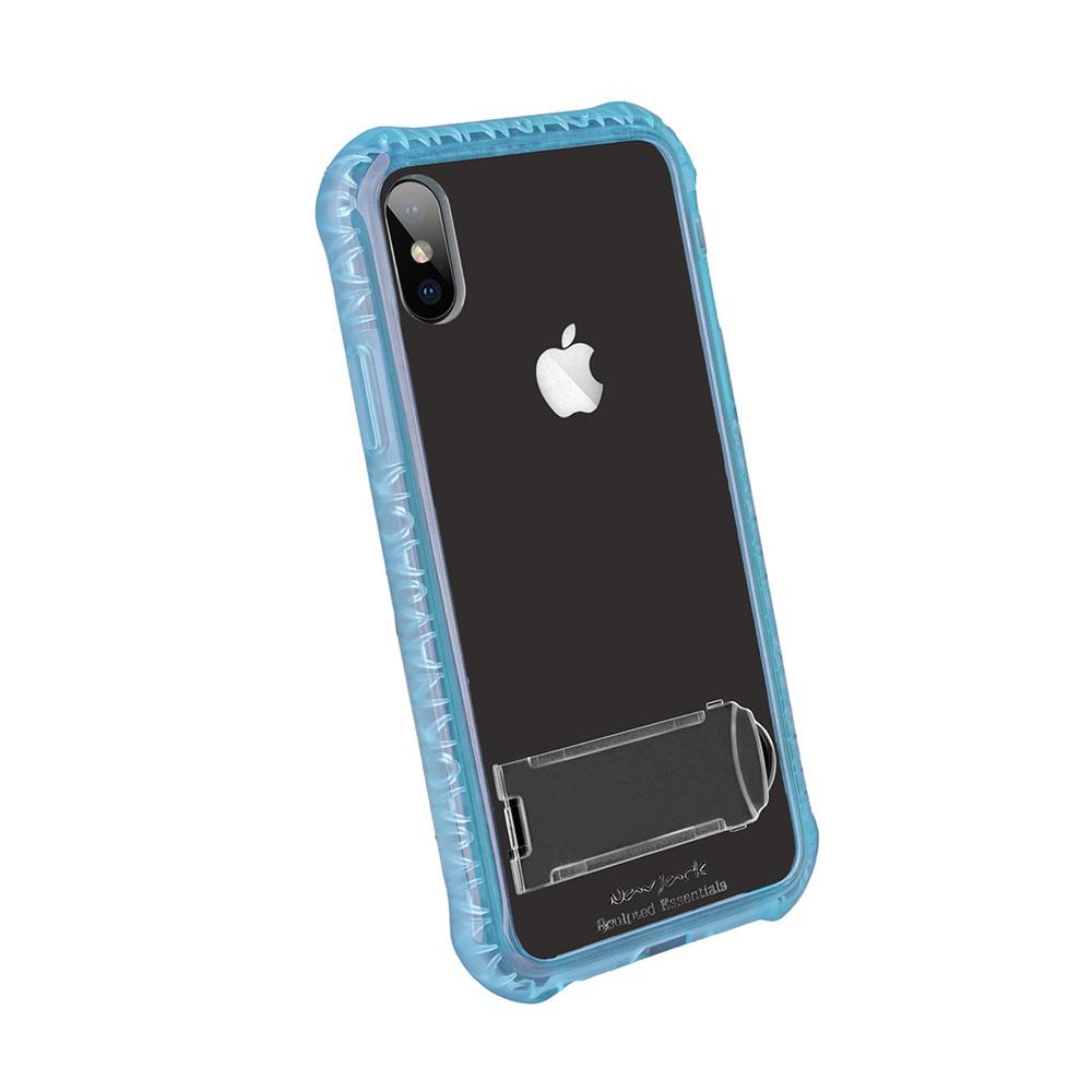 Navjack|iPhone X 美國軍規站立式抗摔吸震空壓保護殼(4色可選)