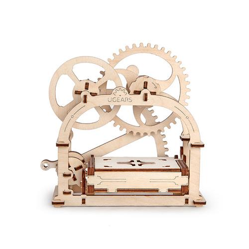 Ugears| 自我推進模型 Mechanical Etui 機動名片盒