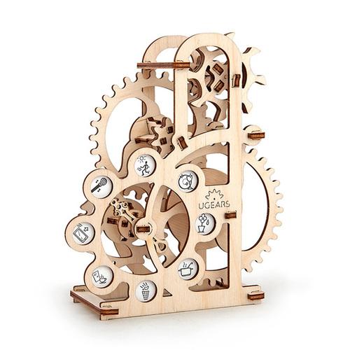 Ugears|自我推進模型 Dynamometer 幸運輪轉盤