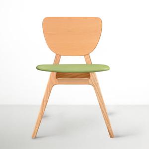 viithe Fit L 斐特餐椅-皮革版(自然色)
