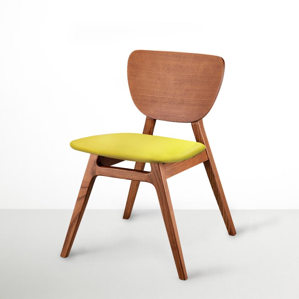 viithe|Fit L 斐特餐椅-皮革版(肉桂色)