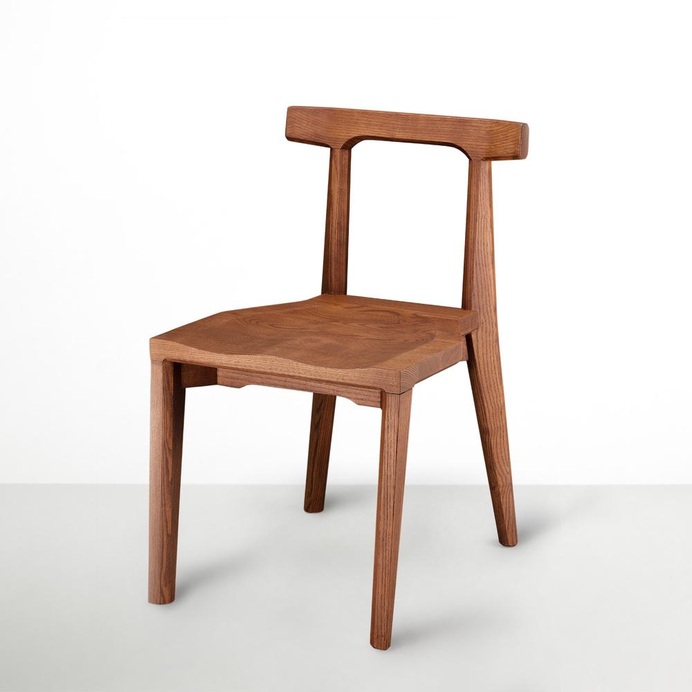 viithe|Angle 安革餐椅(肉桂色)