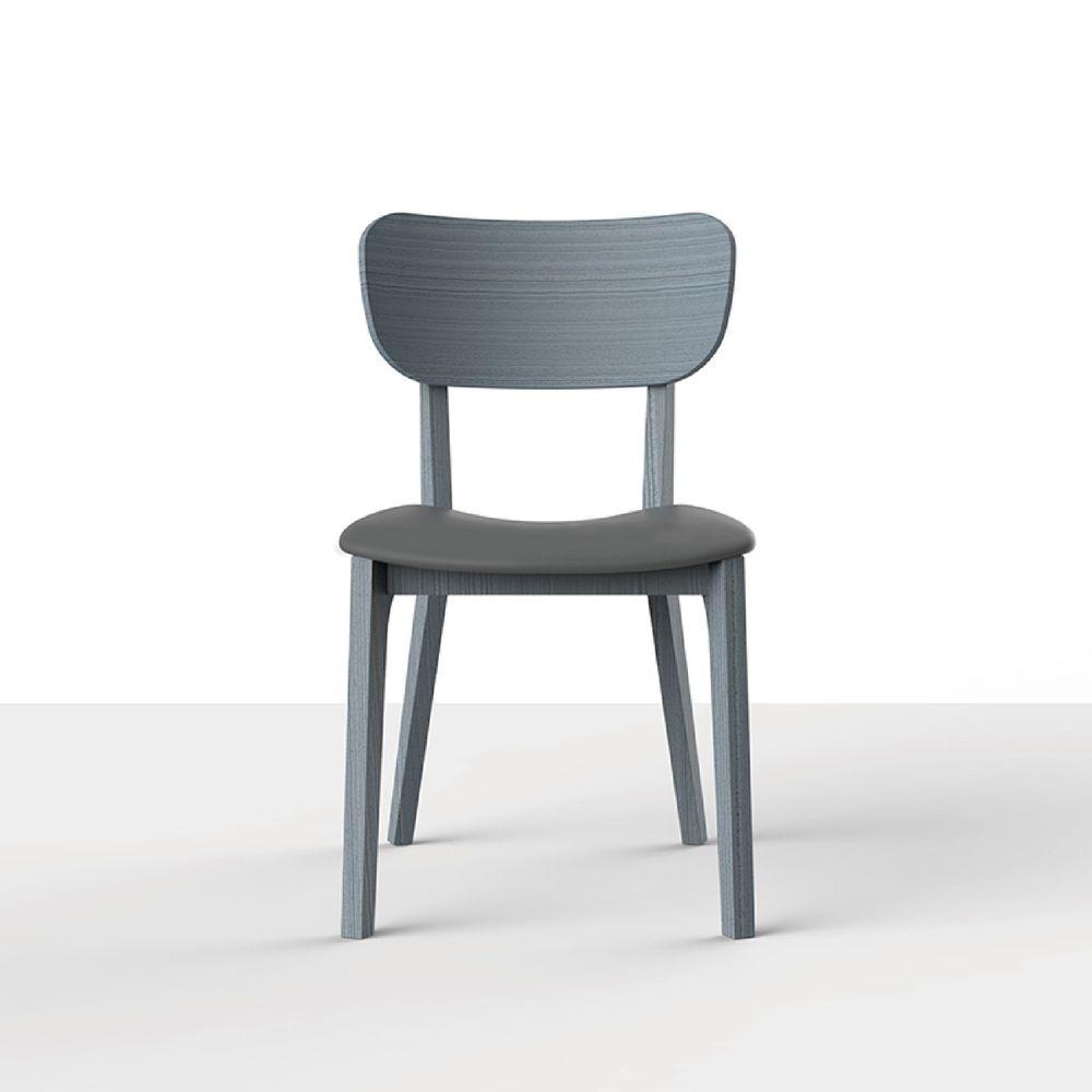 viithe HOUR L 時聚餐椅皮革版 特別版-宇宙灰