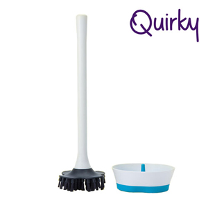 巧趣Quirky 多角度馬桶刷 BRIM
