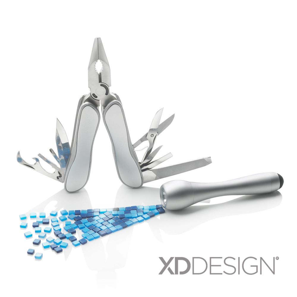 XD-Design Everest多功能瑞士刀手電筒組(環保包裝版)