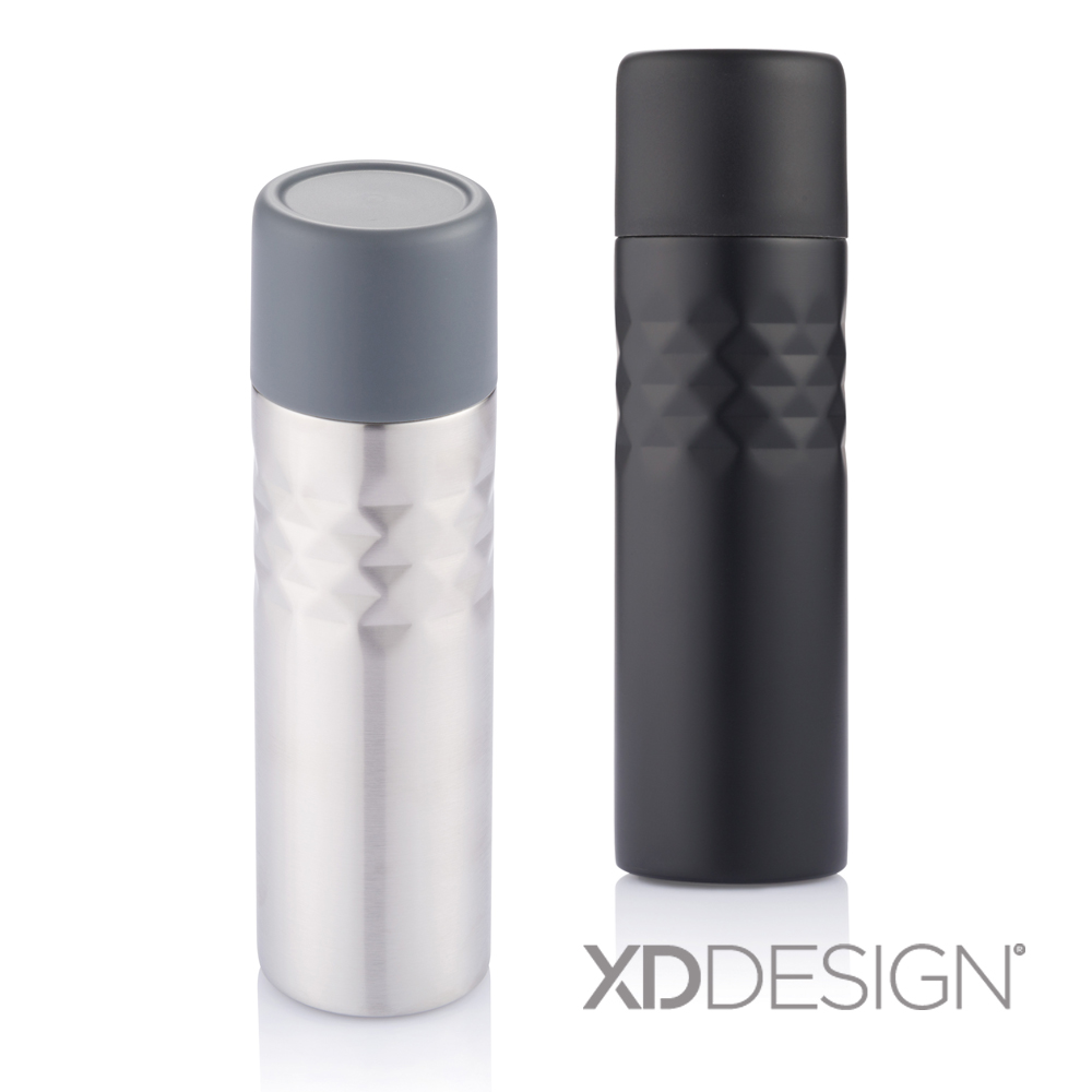 XD-Design|Mosa 時尚格紋保溫瓶 500ml