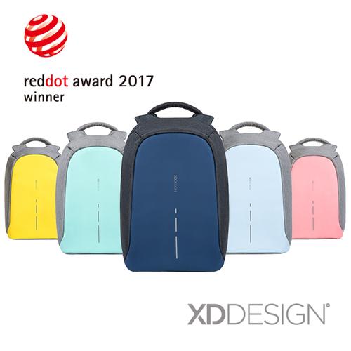 XD-Design|BOBBY COMPACT 終極安全繽紛防盜後背包(桃品國際公司貨)