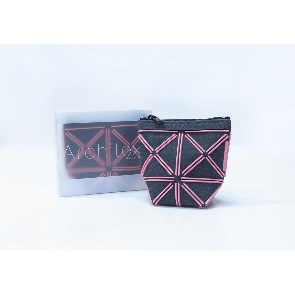 Duckimage|建築系列隨身袋包-M(粉紅色)
