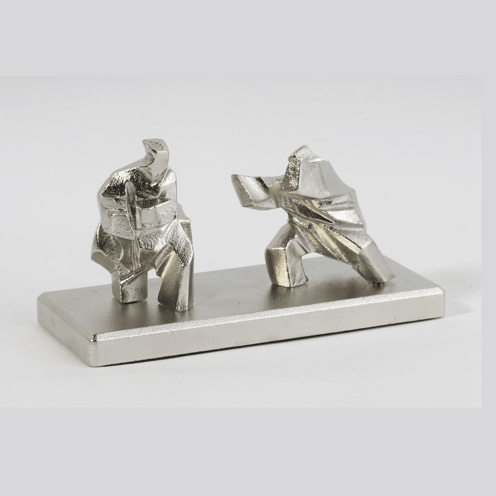 JUMING MUSEUM|太極文鎮-對打 Taichi Paperweight-Fighting Each Other