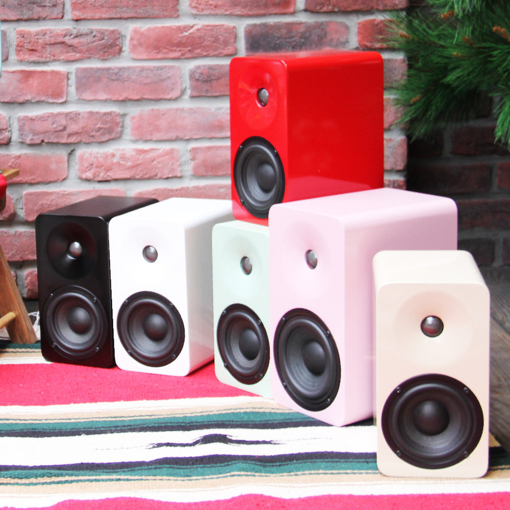 MINFORT|MINPLUS 手工實木無線藍芽音響(烤漆款)