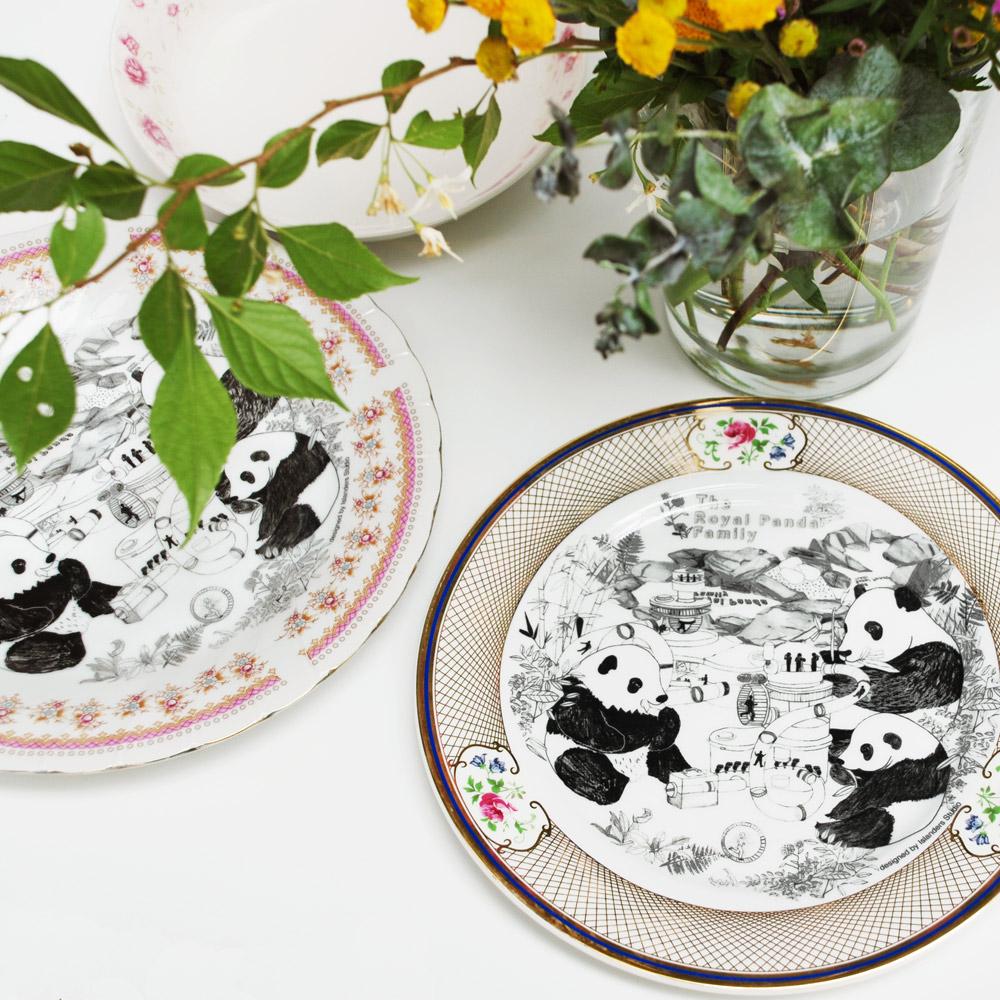 島民|當下最美好餐盤-熊貓皇室(10吋盤)
