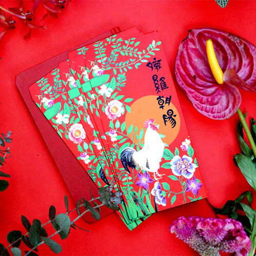 島民 福獸納福紅包袋 - 德雞朝陽(二) - 5入