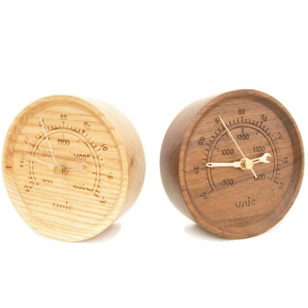 Unic 工業風原木時計