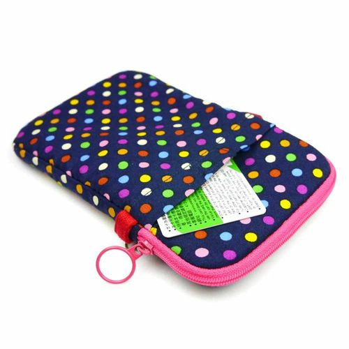 WaWu|拉鍊手機袋XL-附繩(繽紛軟糖)