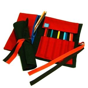 WaWu|筆捲/工具袋(軍綠帆布)
