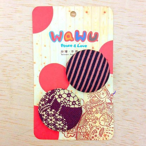 WaWu|設計師獨家手工布胸章(小) 小將軍家