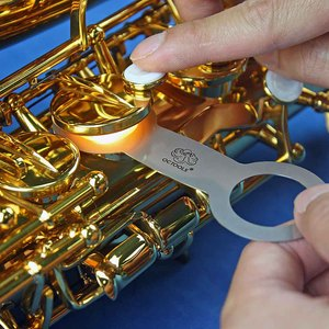 美國OCTOOLS章魚牌 樂器廠級專業薩克斯風維修工具-8號皮墊熨斗組