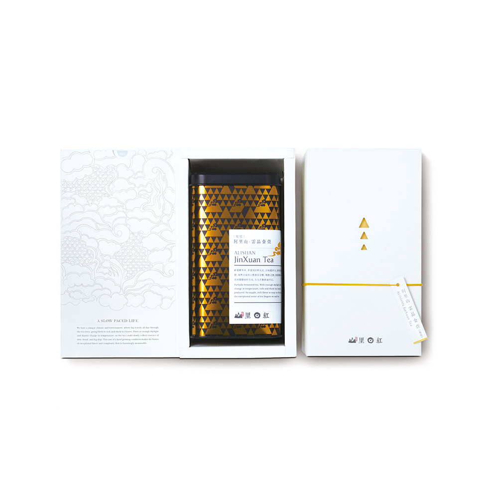 山里日紅 雲品炭焙金萱-150g/盒