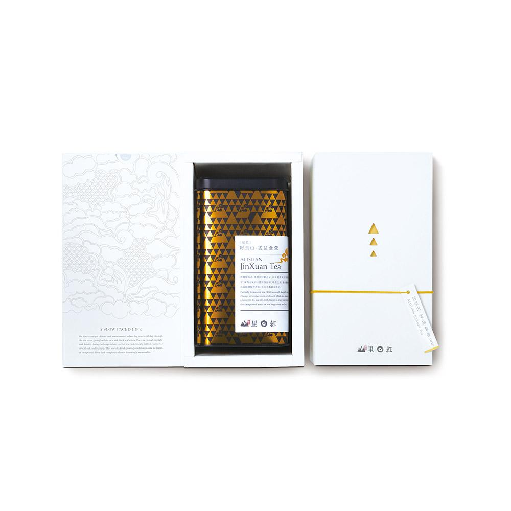 山里日紅|雲品清香金萱-150g/盒