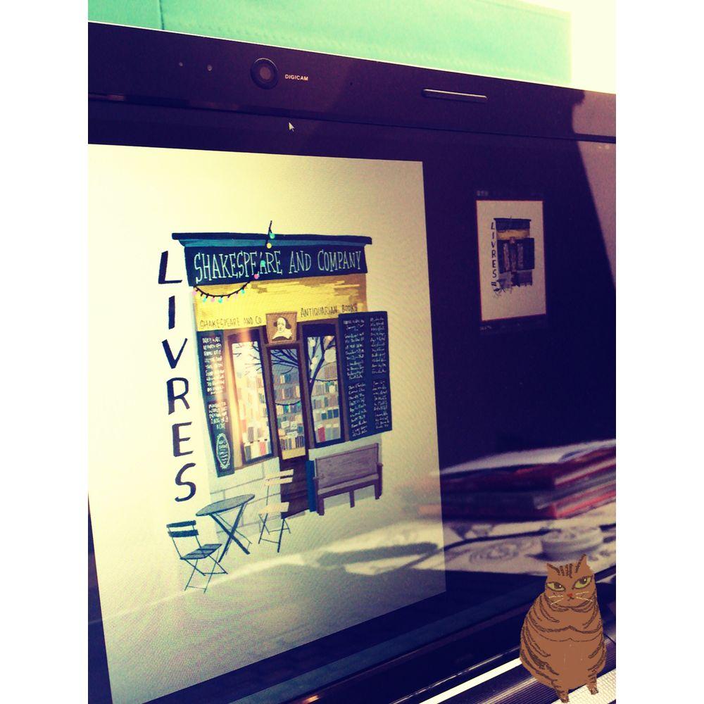 時刻創意|巴黎店鋪-系列03 Livres