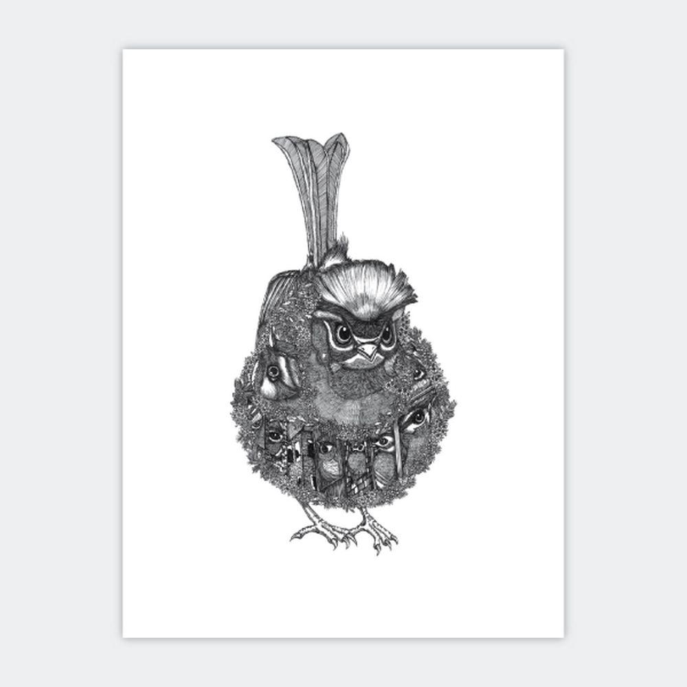 時刻創意 珍線禽-系列01火冠戴菊鳥