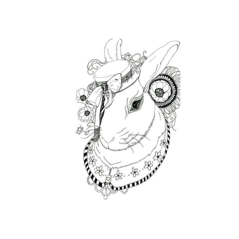 時刻創意|生肖系列-愛麗絲兔