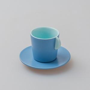 chiandchi|Espresso Cup and saucer 濃縮咖啡杯和盤子套裝(綠色)