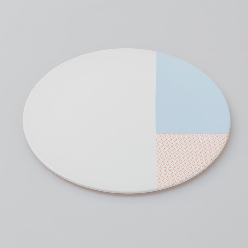 chiandchi|PATCH flat plate 淺盤(天空藍)