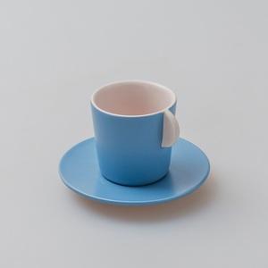 chiandchi|Espresso Cup and saucer 濃縮咖啡杯和盤子套裝(粉色)