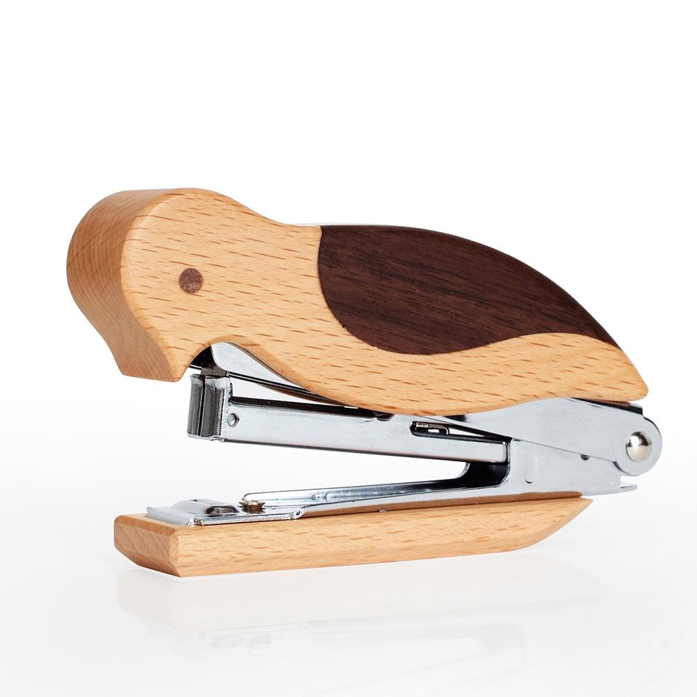 DOT design|竹木鳥訂書機(山毛櫸)