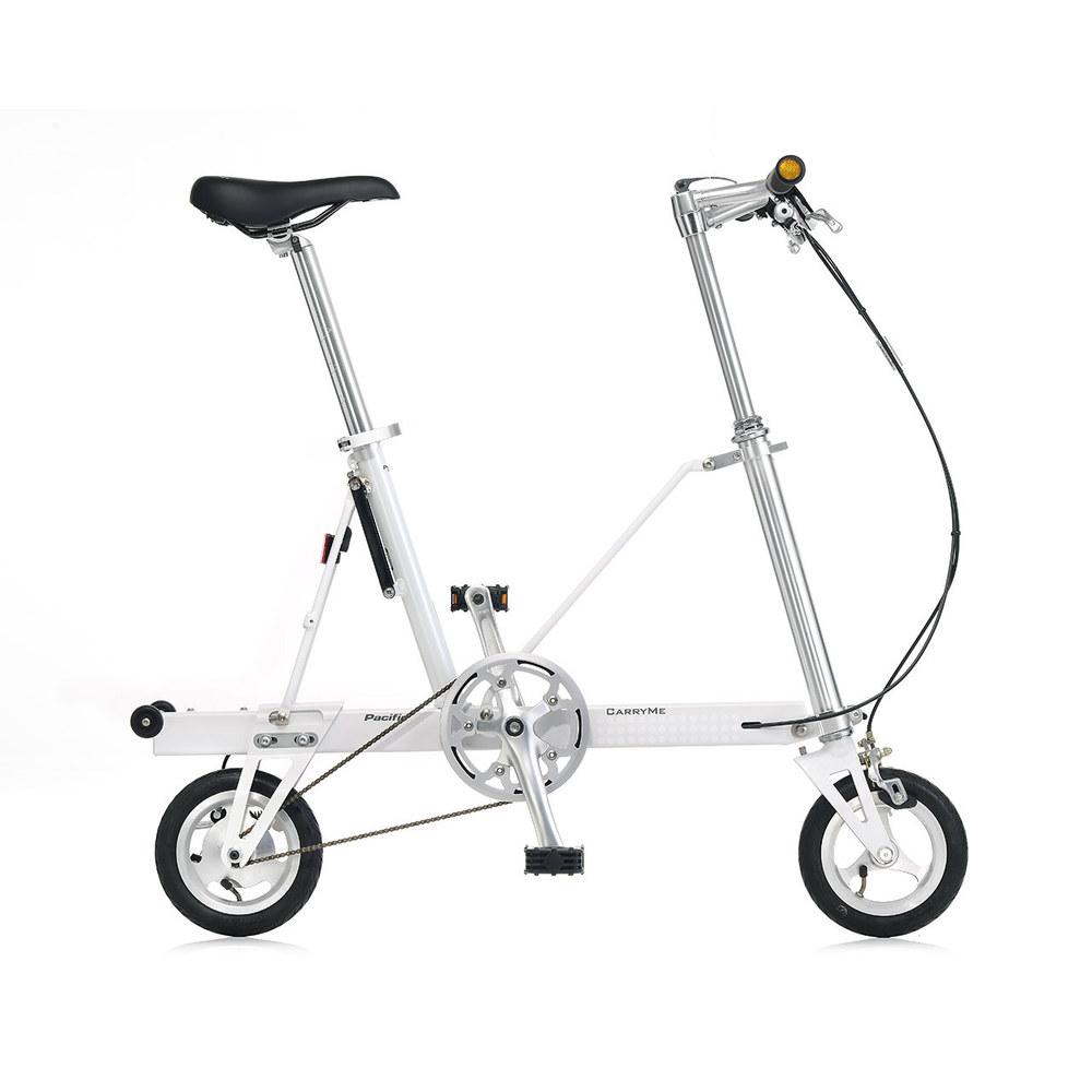 CarryMe|CarryMe SD 單速折疊車(白色)