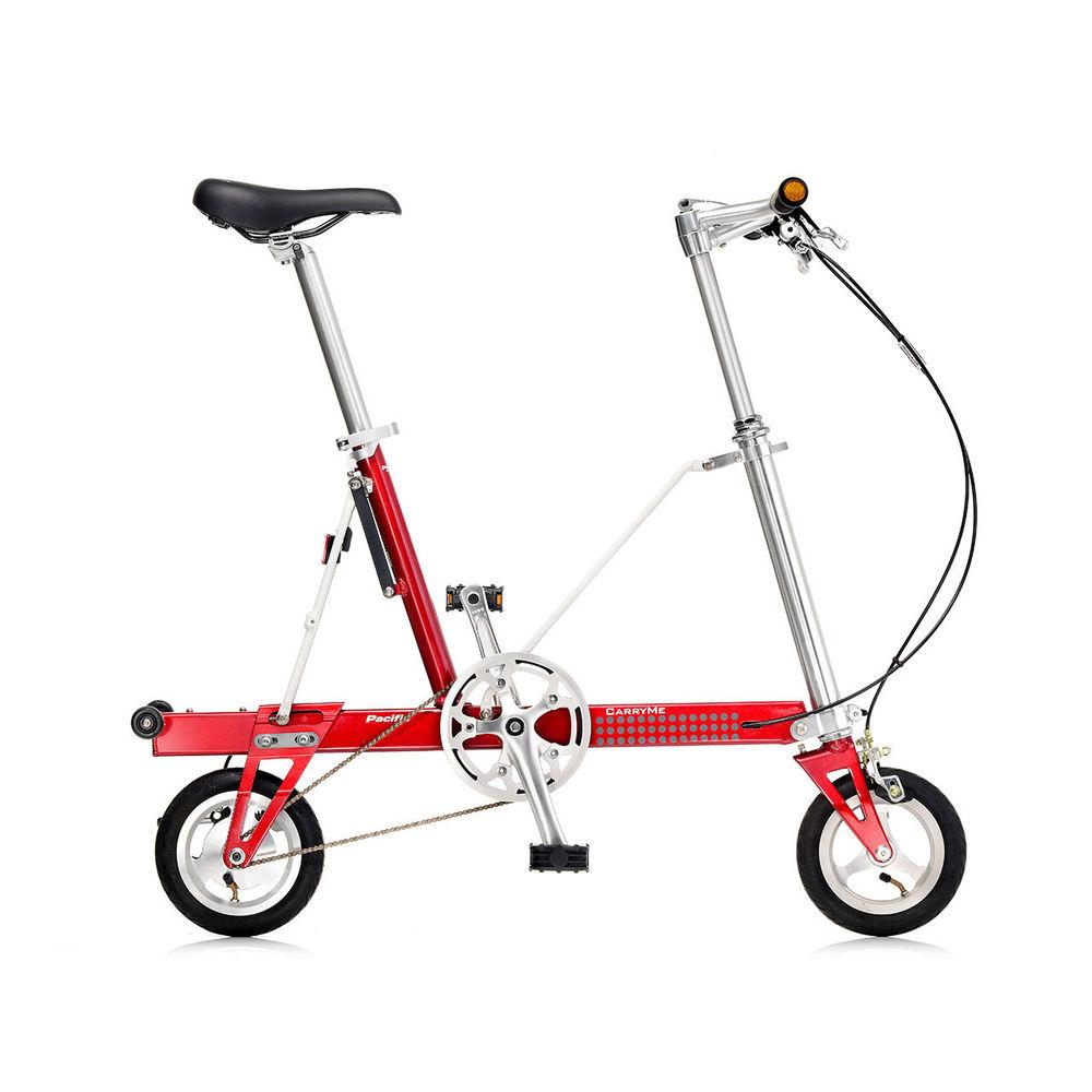 CarryMe|CarryMe SD 單速折疊車(紅色)