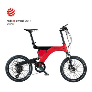 BESV PS1智慧動能自行車(紅)