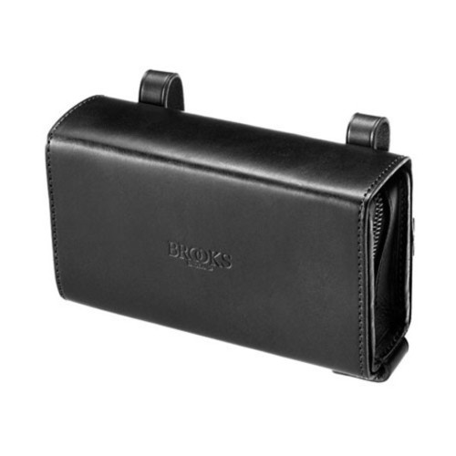 BROOKS|D-Shaped Tool Bag 拉鍊工具包(黑色)