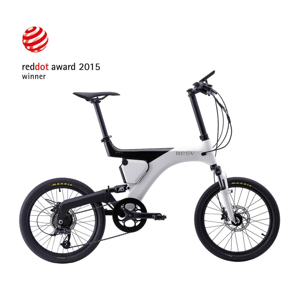 BESV|PS1智慧動能自行車(白)