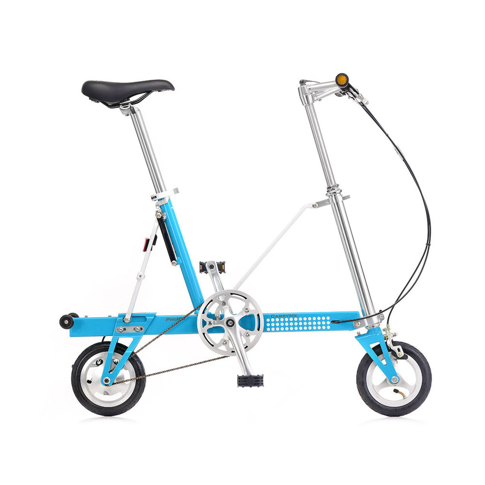 CarryMe|CarryMe SD 單速折疊車(藍色)