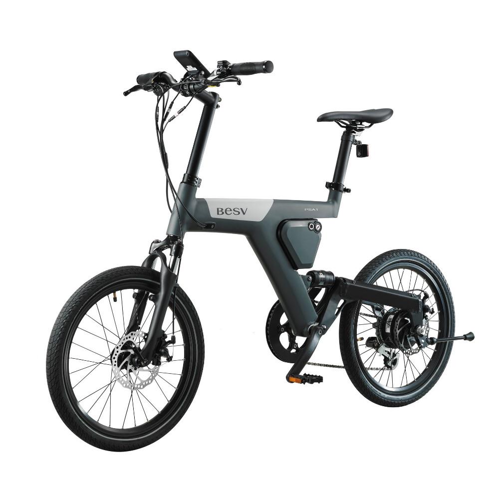 BESV|PSA1 SE 智慧動能自行車(霧灰)