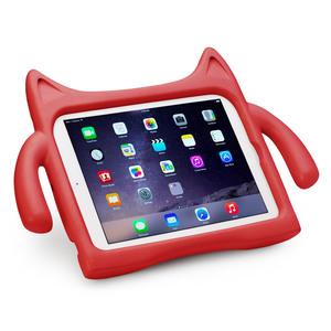 Ndevr iPad Air 兒童平板保護套 for iPad Air 1/2(紅色)