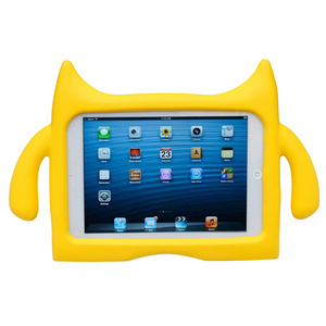 Ndevr iPad mini 兒童平板保護套 for iPad mini 1/2/3(黃色)