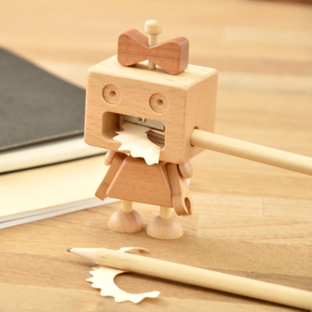 木匠兄妹|機器人削筆器-Roboni