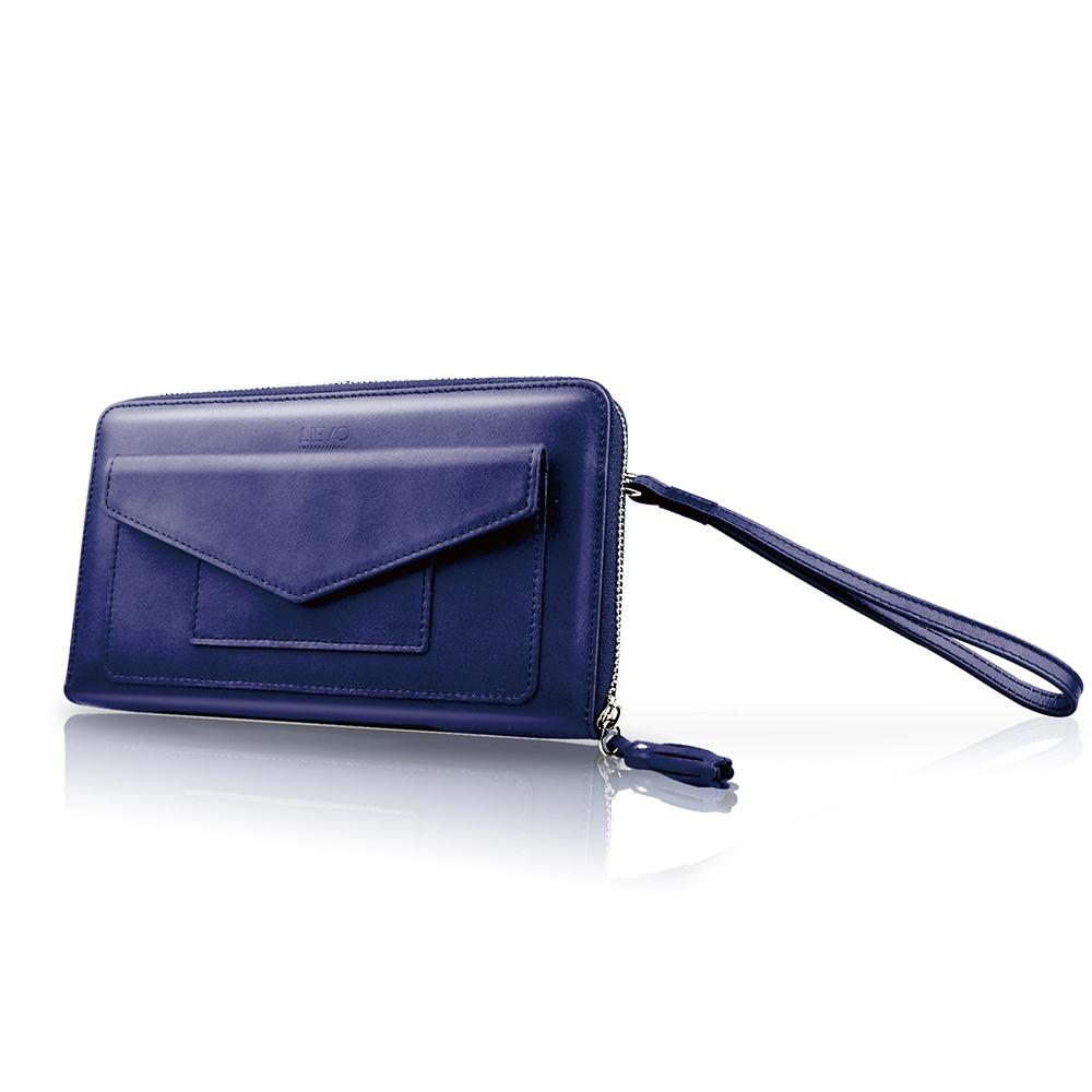 LIEVO 旅行手機皮夾-STORY(深礦藍)