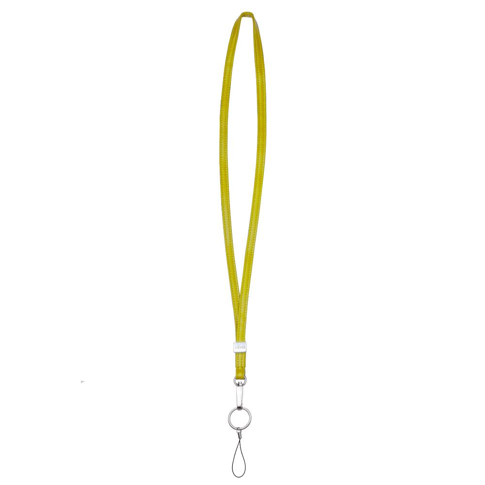 LIEVO │ 小羊皮頸繩(黃)